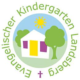 Buntes Logo unseres Kindergartens